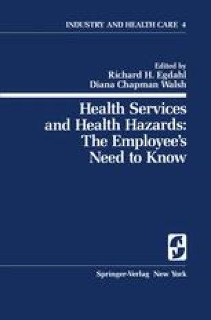 Health Services and Health Hazards