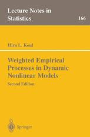 Weighted Empirical Processes in Dynamic Nonlinear Models