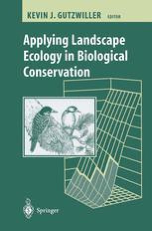 Applying Landscape Ecology in Biological Conservation