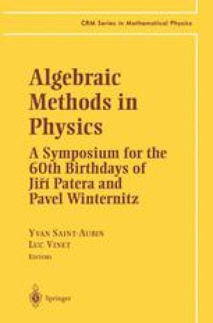 Algebraic Methods in Physics
