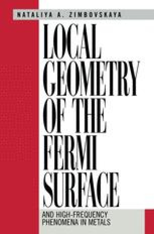 Local Geometry of the Fermi Surface