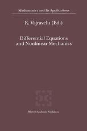 Differential Equations and Nonlinear Mechanics