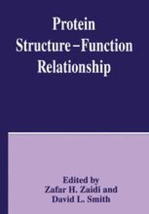 Protein Structure — Function Relationship