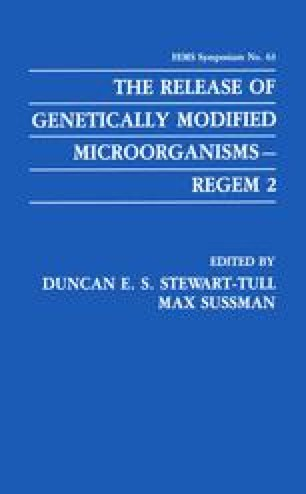 The Release of Genetically Modified Microorganisms—REGEM 2