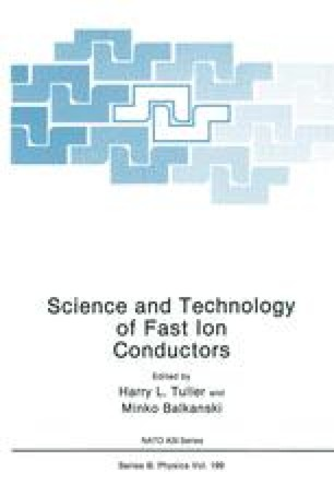 Science and Technology of Fast Ion Conductors
