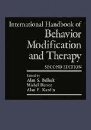International Handbook of Behavior Modification and Therapy