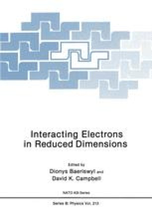Interacting Electrons in Reduced Dimensions