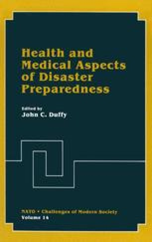 Health and Medical Aspects of Disaster Preparedness
