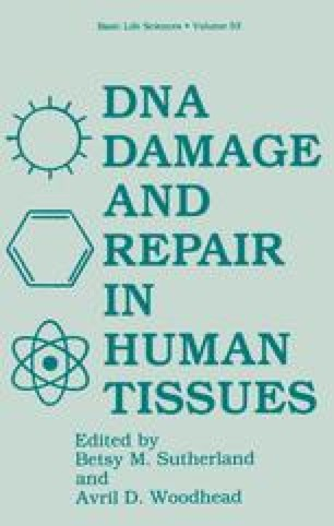 DNA Damage and Repair in Human Tissues