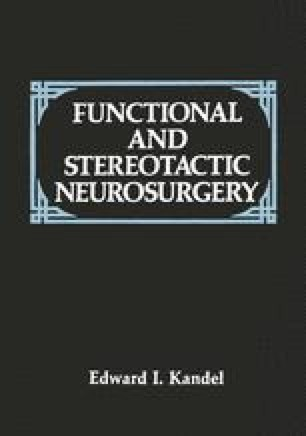 Functional and Stereotactic Neurosurgery
