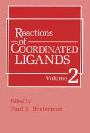 Reactions of Coordinated Ligands