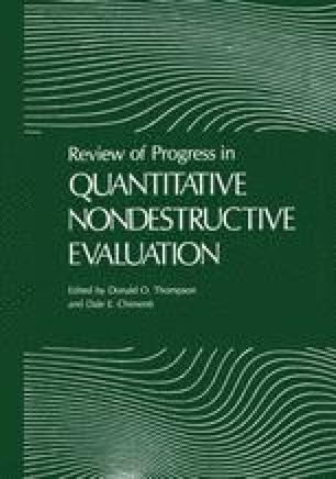 Review of Progress in Quantitative Nondestructive Evaluation