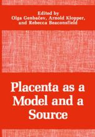 Placenta as a Model and a Source