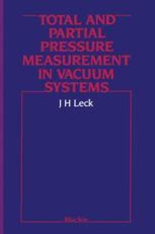 Total and Partial Pressure Measurement in Vacuum Systems