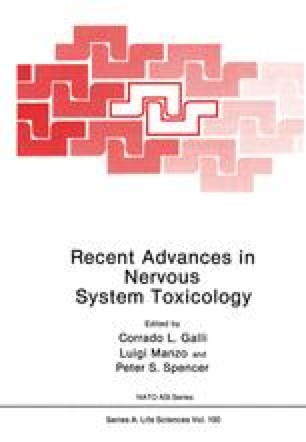 Recent Advances in Nervous System Toxicology