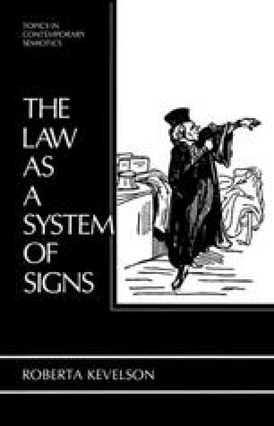 The Law as a System of Signs