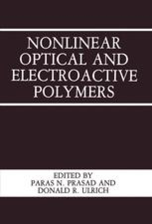 Nonlinear Optical and Electroactive Polymers