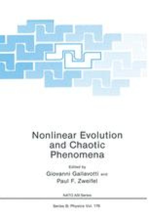 Nonlinear Evolution and Chaotic Phenomena