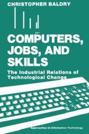 Computers, Jobs, and Skills