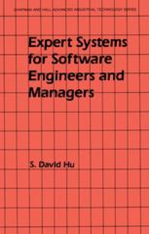 Expert Systems for Software Engineers and Managers