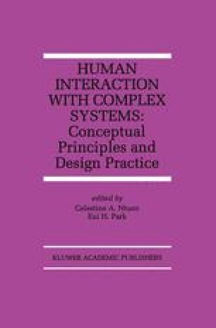 Human Interaction with Complex Systems