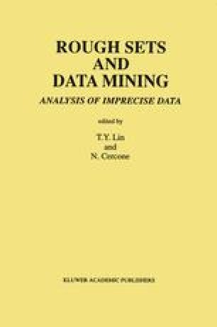 Rough Sets and Data Mining