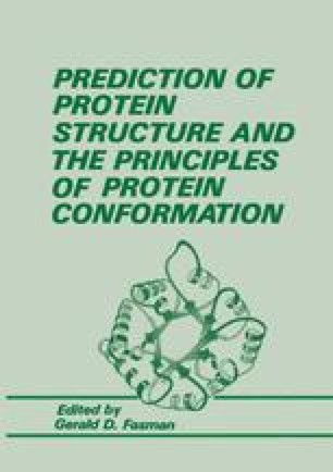 Prediction of Protein Structure and the Principles of Protein Conformation