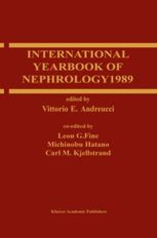 International Yearbook of Nephrology 1989