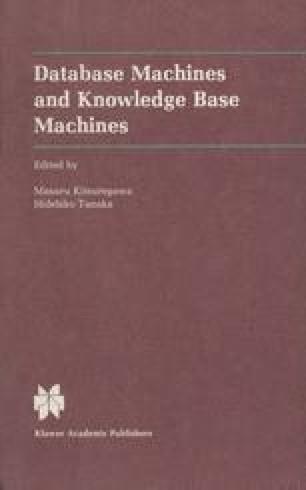 Database Machines and Knowledge Base Machines