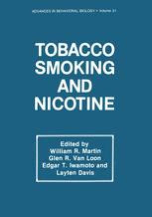 Current Concepts on the Effects of Nicotine on