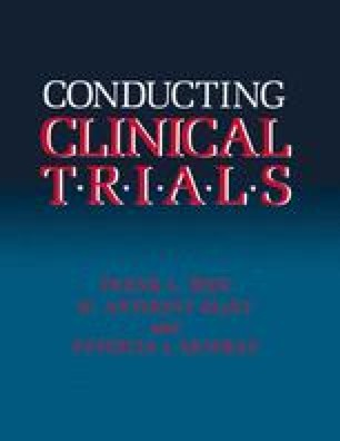 Conducting Clinical Trials