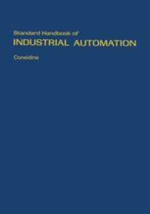 Standard Handbook of Industrial Automation