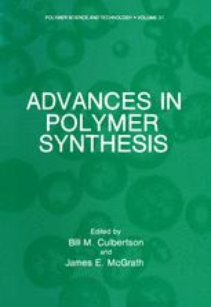 Advances in Polymer Synthesis
