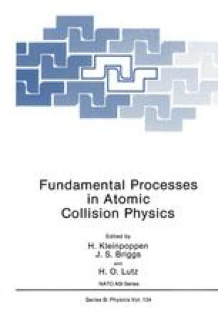 Fundamental Processes in Atomic Collision Physics