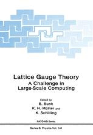 Lattice Gauge Theory