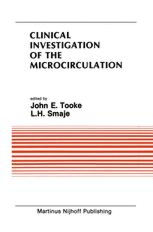 Clinical Investigation of the Microcirculation