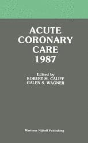 Acute Coronary Care 1987