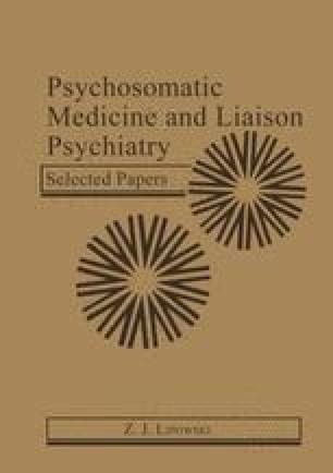 Psychosomatic Medicine and Liaison Psychiatry