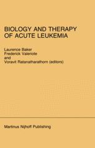 Biology and Therapy of Acute Leukemia