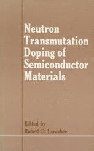 Neutron Transmutation Doping of Semiconductor Materials