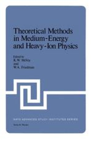 Theoretical Methods in Medium-Energy and Heavy-Ion Physics
