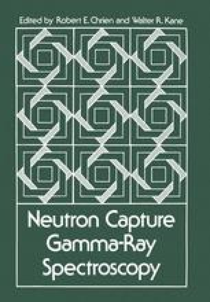 Neutron Capture Gamma-Ray Spectroscopy
