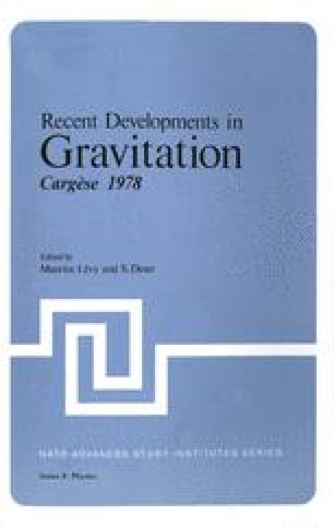 Recent Developments in Gravitation