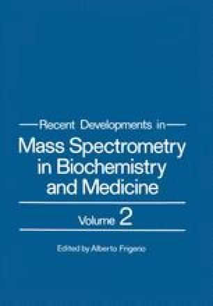 Recent Developments in Mass Spectrometry in Biochemistry and Medicine