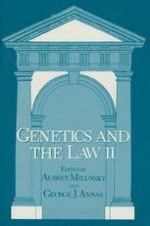 Genetics and the Law II