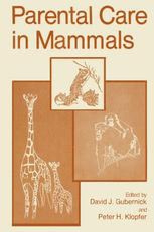 Parental Care in Mammals