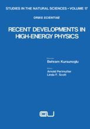 Recent Developments in High-Energy Physics
