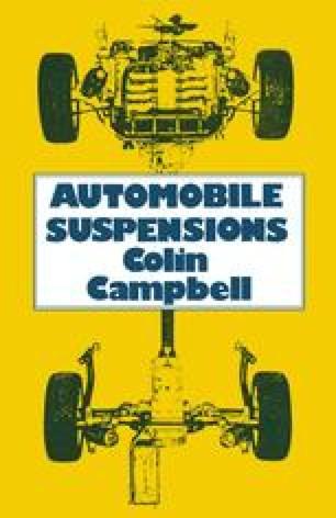 Automobile Suspensions