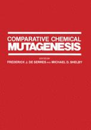 Comparative Chemical Mutagenesis