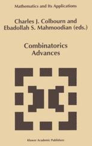 Combinatorics Advances